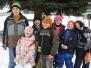 Výlet ke krmelci - leden 2010