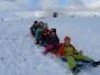 zimní olympiáda a stavby ze sněhu
